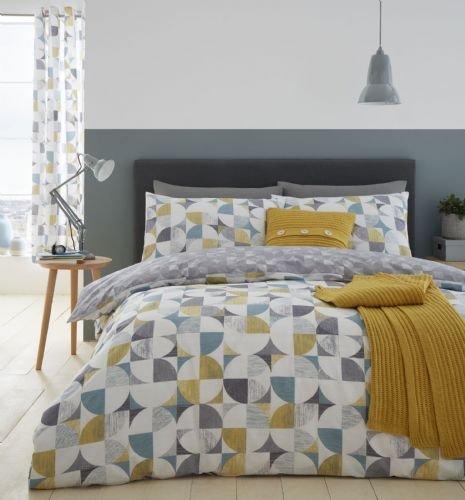 Catherine Lansfield Retro Circles Multi Bedding Set
